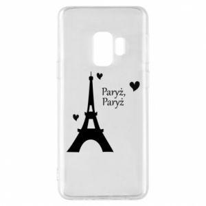 Etui na Samsung S9 Paryż, Paryż