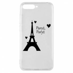 Etui na Huawei Y6 2018 Paryż, Paryż