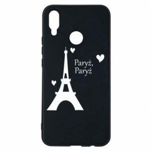 Etui na Huawei P Smart Plus Paryż, Paryż
