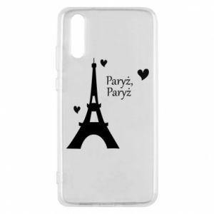 Etui na Huawei P20 Paryż, Paryż