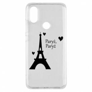 Etui na Xiaomi Mi A2 Paryż, Paryż