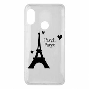 Etui na Mi A2 Lite Paryż, Paryż