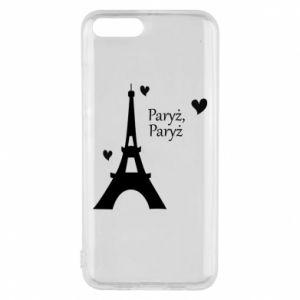 Etui na Xiaomi Mi6 Paryż, Paryż