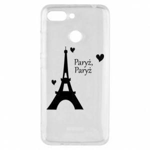 Etui na Xiaomi Redmi 6 Paryż, Paryż