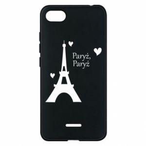 Etui na Xiaomi Redmi 6A Paryż, Paryż