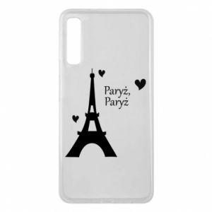 Etui na Samsung A7 2018 Paryż, Paryż