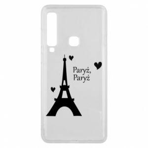 Etui na Samsung A9 2018 Paryż, Paryż