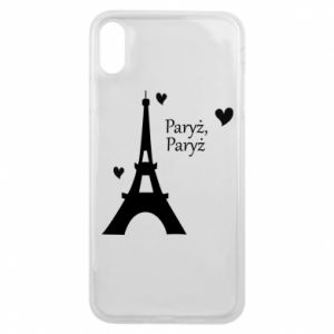 Etui na iPhone Xs Max Paryż, Paryż