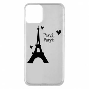 Etui na iPhone 11 Paryż, Paryż