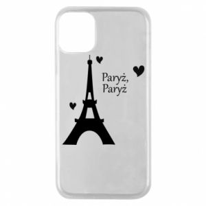 Etui na iPhone 11 Pro Paryż, Paryż