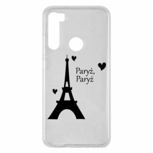 Xiaomi Redmi Note 8 Case Paris, Paris