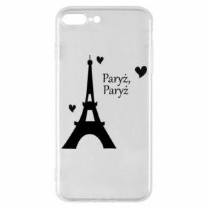 Etui na iPhone 8 Plus Paryż, Paryż