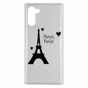 Samsung Note 10 Case Paris, Paris
