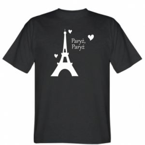 T-shirt Paris, Paris