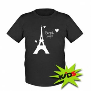 Kids T-shirt Paris, Paris
