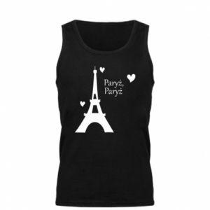 Męska koszulka Paryż, Paryż