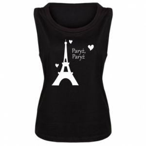 Damska koszulka Paryż, Paryż