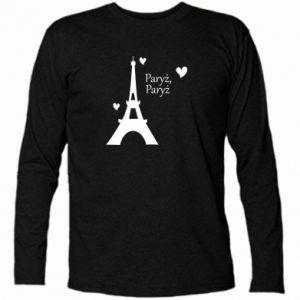Koszulka z długim rękawem Paryż, Paryż