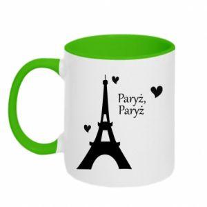 Two-toned mug Paris, Paris