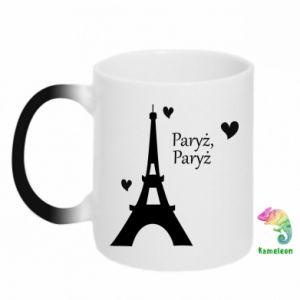 Chameleon mugs Paris, Paris