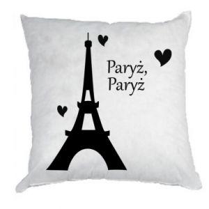 Poduszka Paryż, Paryż