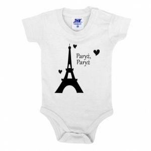 Baby bodysuit Paris, Paris