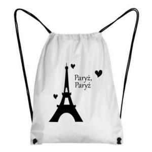 Plecak-worek Paryż, Paryż