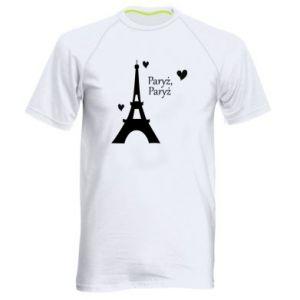 Męska koszulka sportowa Paryż, Paryż