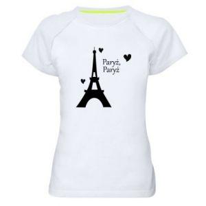 Damska koszulka sportowa Paryż, Paryż