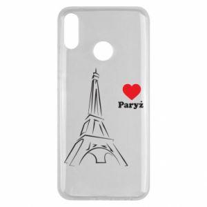 Etui na Huawei Y9 2019 Paryżu, kocham cię