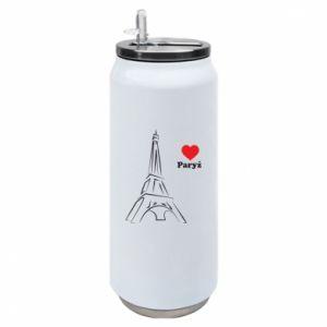 Puszka termiczna Paryżu, kocham cię