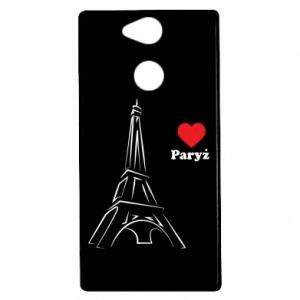 Etui na Sony Xperia XA2 Paryżu, kocham cię