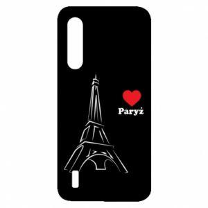 Etui na Xiaomi Mi9 Lite Paryżu, kocham cię