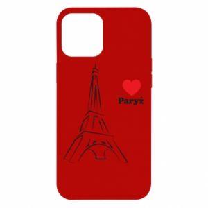 Etui na iPhone 12 Pro Max Paryżu, kocham cię