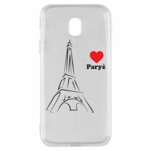 Etui na Samsung J3 2017 Paryżu, kocham cię
