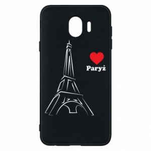 Etui na Samsung J4 Paryżu, kocham cię - PrintSalon