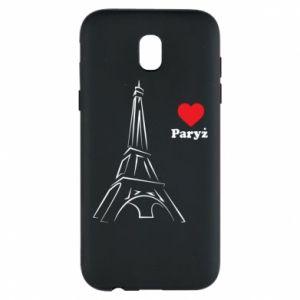Etui na Samsung J5 2017 Paryżu, kocham cię