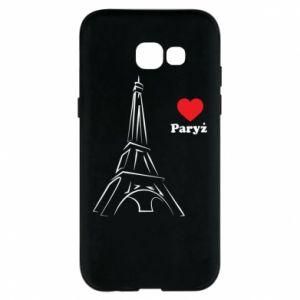 Etui na Samsung A5 2017 Paryżu, kocham cię