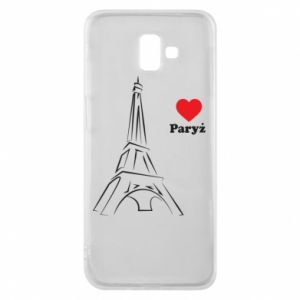 Etui na Samsung J6 Plus 2018 Paryżu, kocham cię