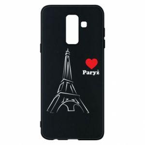 Etui na Samsung A6+ 2018 Paryżu, kocham cię - PrintSalon