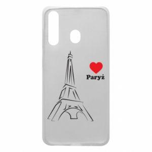 Etui na Samsung A60 Paryżu, kocham cię