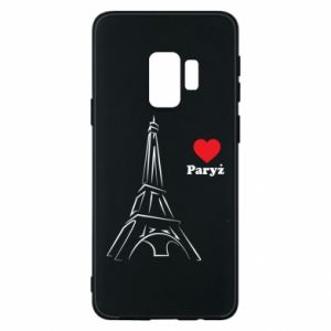 Etui na Samsung S9 Paryżu, kocham cię - PrintSalon