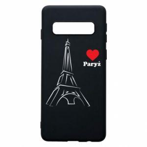 Etui na Samsung S10 Paryżu, kocham cię