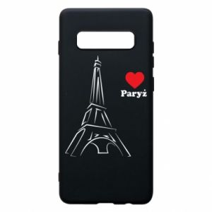 Etui na Samsung S10+ Paryżu, kocham cię
