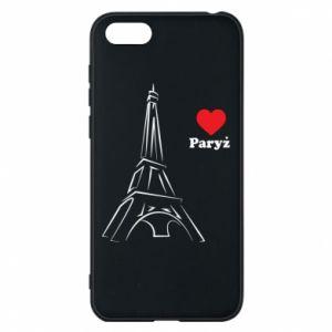 Etui na Huawei Y5 2018 Paryżu, kocham cię - PrintSalon