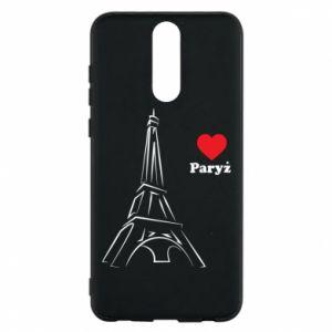 Etui na Huawei Mate 10 Lite Paryżu, kocham cię