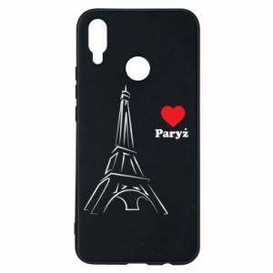 Etui na Huawei P Smart Plus Paryżu, kocham cię