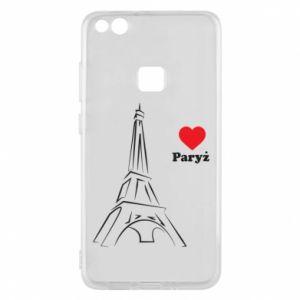 Etui na Huawei P10 Lite Paryżu, kocham cię - PrintSalon