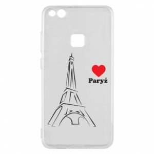 Etui na Huawei P10 Lite Paryżu, kocham cię