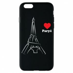 Etui na iPhone 6/6S Paryżu, kocham cię - PrintSalon
